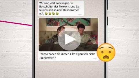 """MagentaTV - """"Die erste WhatsApp Comedy der Welt"""""""